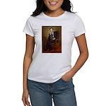 Lincoln-Black Pug Women's T-Shirt