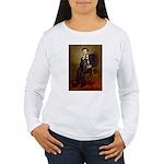 Lincoln-Black Pug Women's Long Sleeve T-Shirt