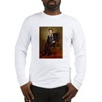 Lincoln-Black Pug Long Sleeve T-Shirt