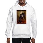 Lincoln-Black Pug Hooded Sweatshirt