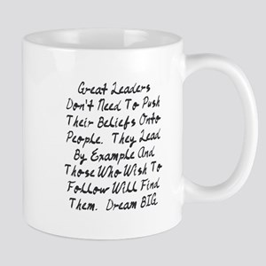 Lead By Example Mugs