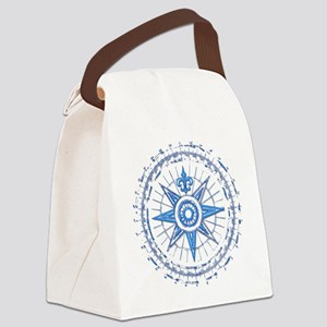 Nautical Canvas Lunch Bag