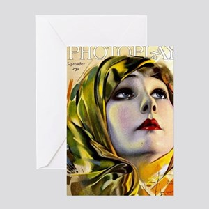 photoplay cover Greeting Card