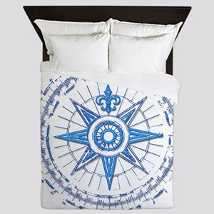 Nautical Queen Duvet