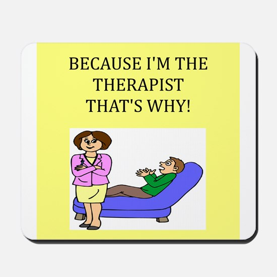 therapist gifts t-shirts Mousepad