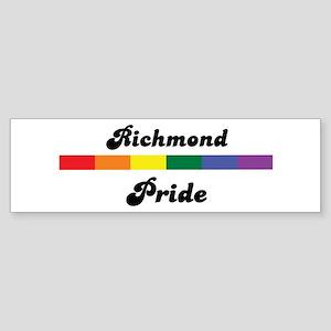 Richmond pride Bumper Sticker