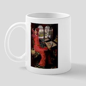 Lady / Black Pug Mug