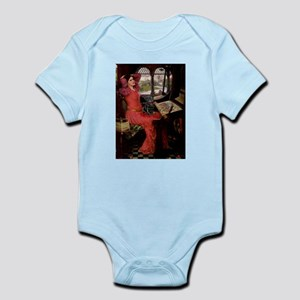 Lady / Black Pug Infant Bodysuit