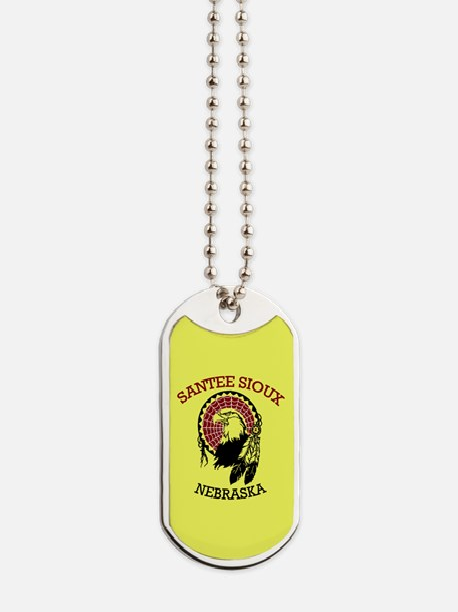 Santee Sioux Dog Tags