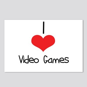 Video Games Postcards (Package of 8)