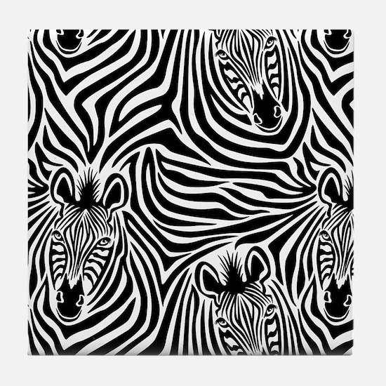 Zebras Tile Coaster
