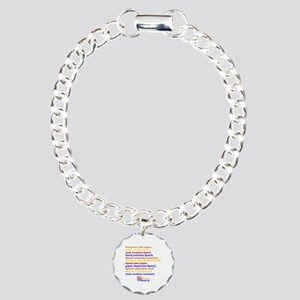 Big Bang Theory Quote Charm Bracelet, One Charm