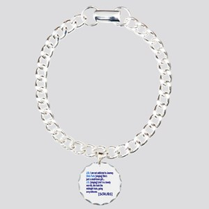 Scrubs TV Quote Charm Bracelet, One Charm