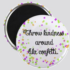 Confetti kindness Magnets