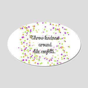 Confetti kindness Wall Decal