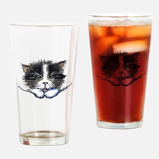 Pocket Kitten Drinking Glass