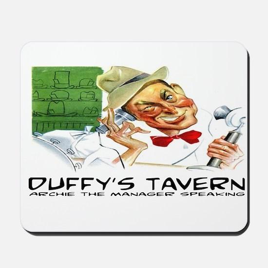 DUFFY'S TAVERN - OLD TIME RADIO Mousepad