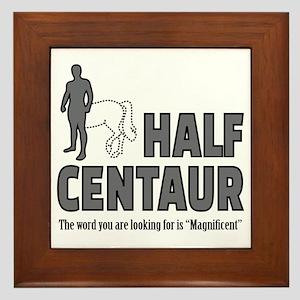 Half Centaur Framed Tile