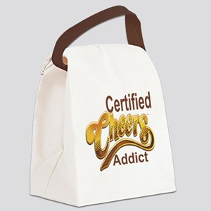 Certified Cheers Addict Canvas Lunch Bag