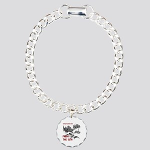 Camp Crystal Lake Charm Bracelet, One Charm