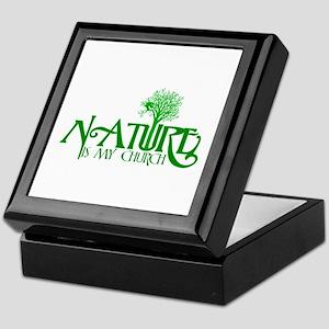 Nature is my Church Keepsake Box