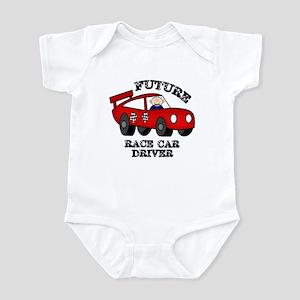 Future Race Car Driver Cute Baby Boy bodysuit