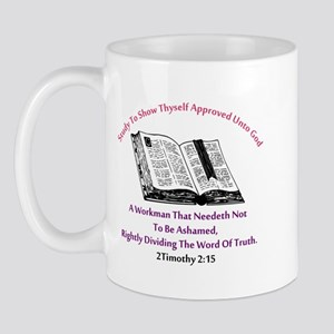 2timothy 2:15 Mugs