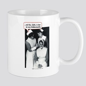 Nurse Blabbermouth Cure Mug