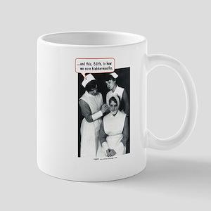 Nurse Blabbermouth Cure Mug