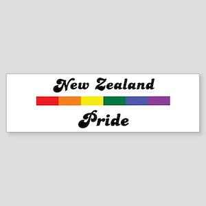 New Zealand pride Bumper Sticker
