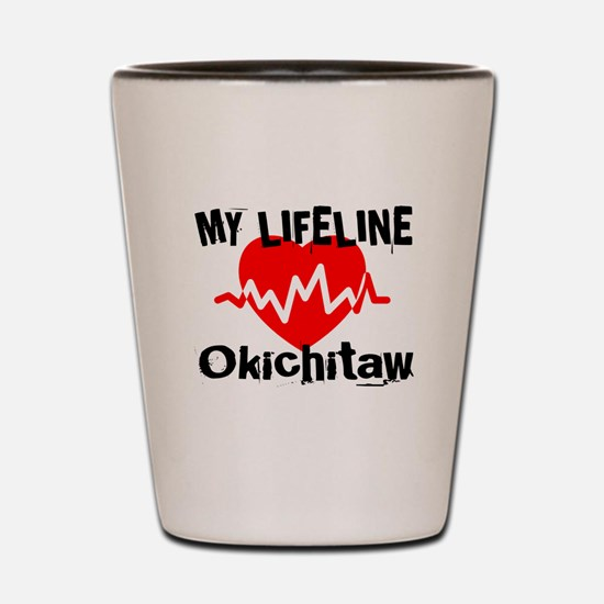 My Life Line Okichitaw Shot Glass