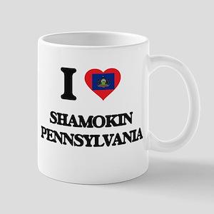 I love Shamokin Pennsylvania Mugs