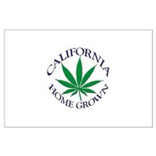 California Home Grown Large Poster