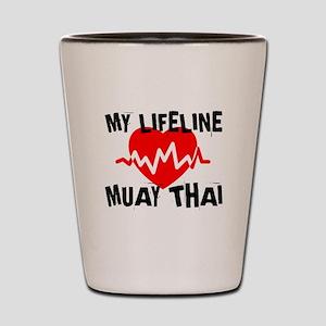 My Life Line Muay Thai Shot Glass