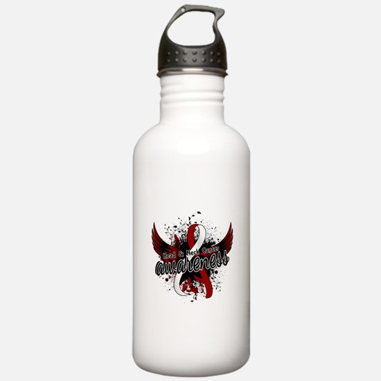 Head Neck Cancer Aware Water Bottle