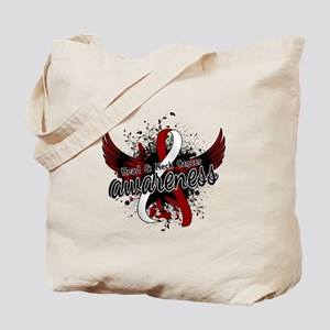Head Neck Cancer Awareness 16 Tote Bag