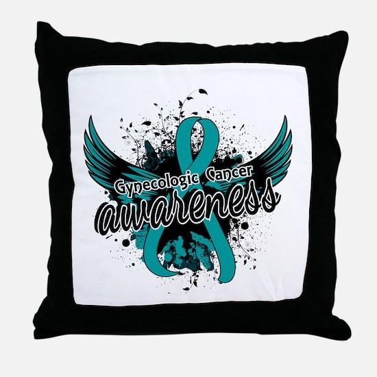 Gynecologic Cancer Awareness 16 Throw Pillow
