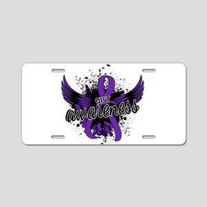 GIST Awareness 16 Aluminum License Plate