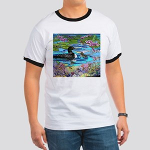 Loons and Lilies Ringer T