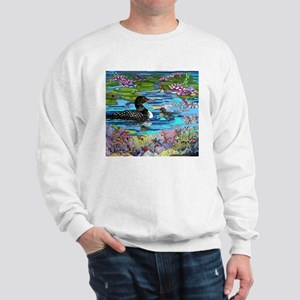 Loons and Lilies Sweatshirt