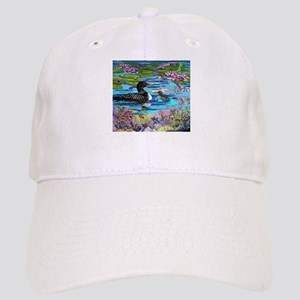 Loons and Lilies Cap