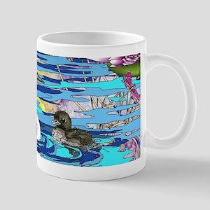 Loons and Lilies Mug