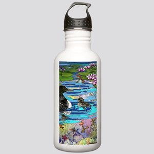 Loons and Lilies Stainless Water Bottle 1.0L