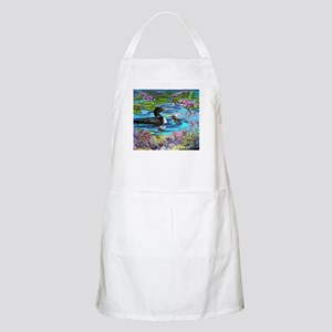 Loons and Lilies Apron