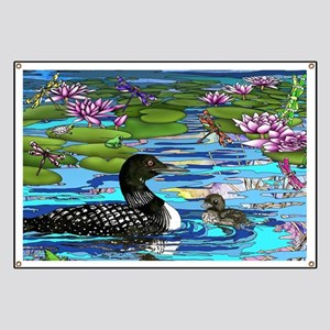 Loons and Lilies Banner
