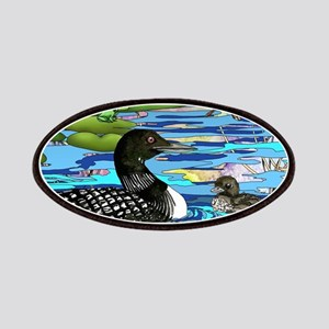 Loons and Lilies Patch