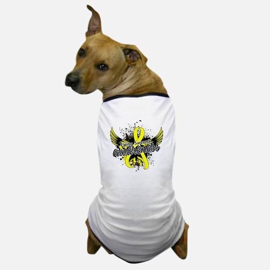 Ewing Sarcoma Awareness 16 Dog T-Shirt
