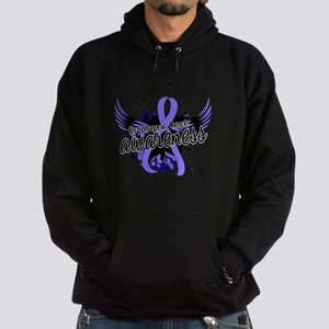 Esophageal Cancer Awareness 16 Hoodie (dark)
