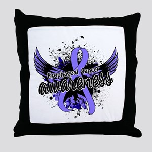 Esophageal Cancer Awareness 16 Throw Pillow