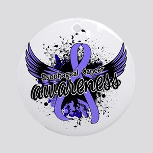 Esophageal Cancer Awareness 16 Ornament (Round)